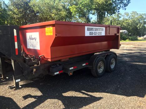 Adams Sanitation Santa Rosa County Dumpster Service
