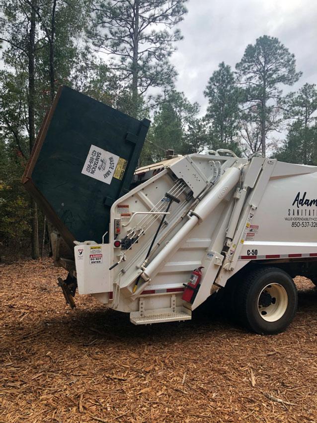 Adams Sanitation Commercial Hauler Services for Santa Rosa County